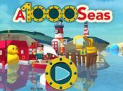 A1000Seas, disponibile l'avventura mobile rivolta piccolini