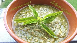 Il mio Pesto alla Genovese senz'aglio, (ricetta Bimby)