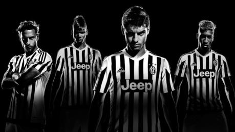 "Maglia adidas della Juventus 2015-2016, ""Our Way or No Way"""