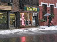 It's the books, stupid! Reading is sexy in New York. Greenwich Village bookstores