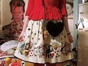 Outfit post: Emily Temple Cute Alice print skirt