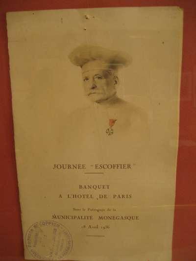 Georges auguste escoffier paperblog for Auguste escoffier ma cuisine book