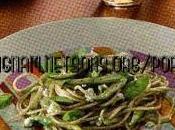 Spaghetti integrali crema zucchine