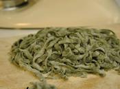 ...questa sera pasta fresca, tagliatelle verdi agli spina...
