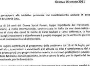 Rassegna stampa Genova 2011 Conferenza l'adesione della Fiom