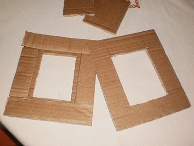 Come creare una cornice dal cartone tutorial paperblog for Cornici per foto in vetro