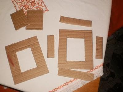 come creare una cornice dal cartone tutorial paperblog