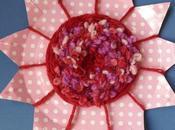 Lavoretti bambini: fiori lana cartone