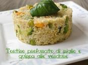 Tortino caldo/freddo profumato alle verdure (senza glutine)