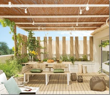 5 idee per arredare terrazzi e balconi paperblog for Disegni di log casa stile ranch
