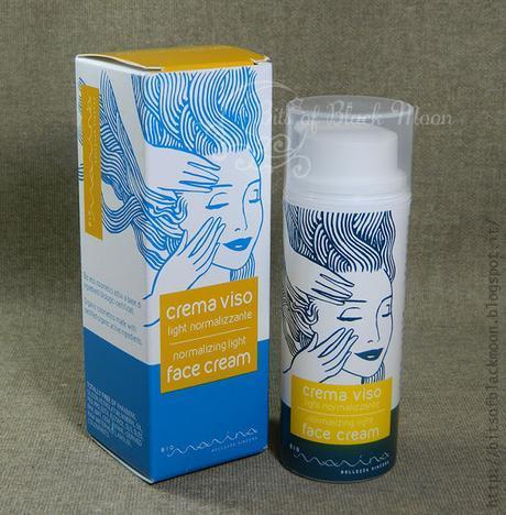 Bio Marina - Crema light normalizzante - Lekki krem normalizujący do pielęgnacji cery mieszanej i tłustej