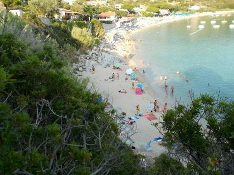 Summer holidays on Elba Island. 1st week report (4-10/7, 2015)