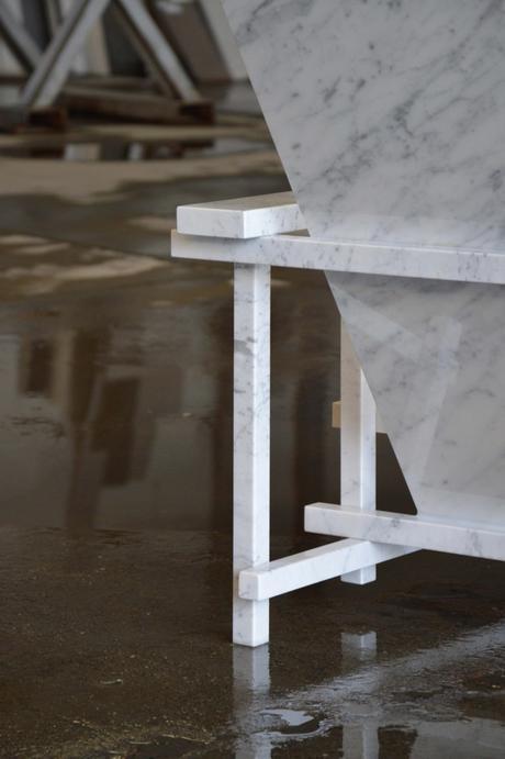 Design la sedia di guerrit rietveld diventa di marmo - La sedia di design ...