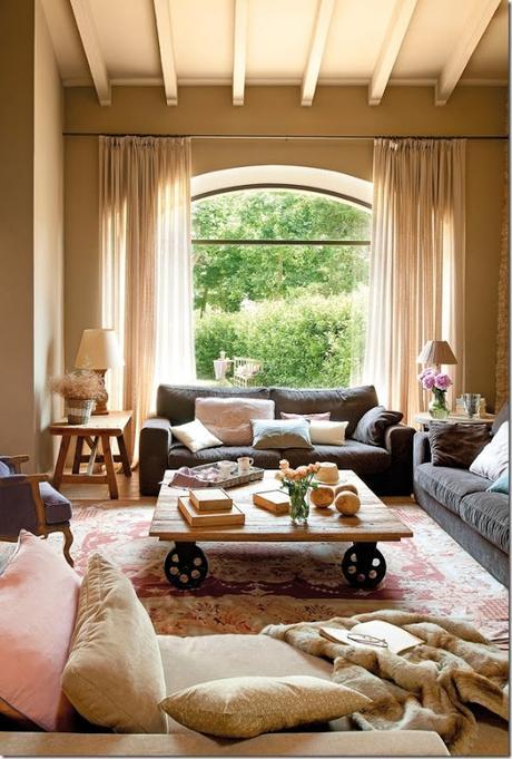 Rilassante casa in campagna da un ex fienile paperblog - Ristrutturare casa campagna ...