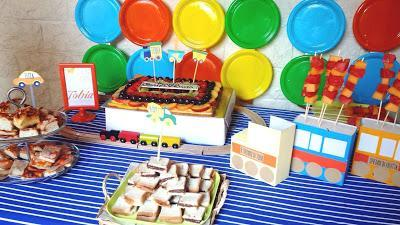 Transportation party {compleanno di Tobia}