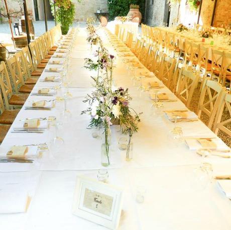 Matrimonio in un antico lavatoio paperblog - La tavola degli ufficiali ...