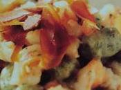 Gnocchetti verdi gamberi bottarga