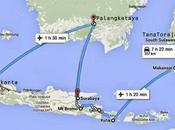 Mappa viaggio Indonesia 2015