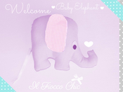 Cartamodello elefantino stoffa