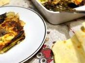 Lasagna carasau verdure stracchino