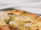 Galette crema frangipane pistacchi pere