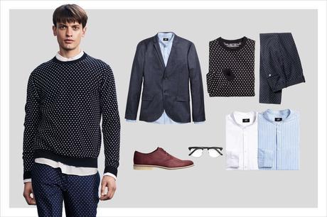 Look Ufficio Uomo : Moda uomo h m propone perfetti outfits da ufficio paper
