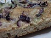 Focaccia semi integrale cipolle (ricetta veloce)