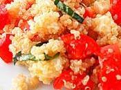 Quinoa pomodoro mozzarella