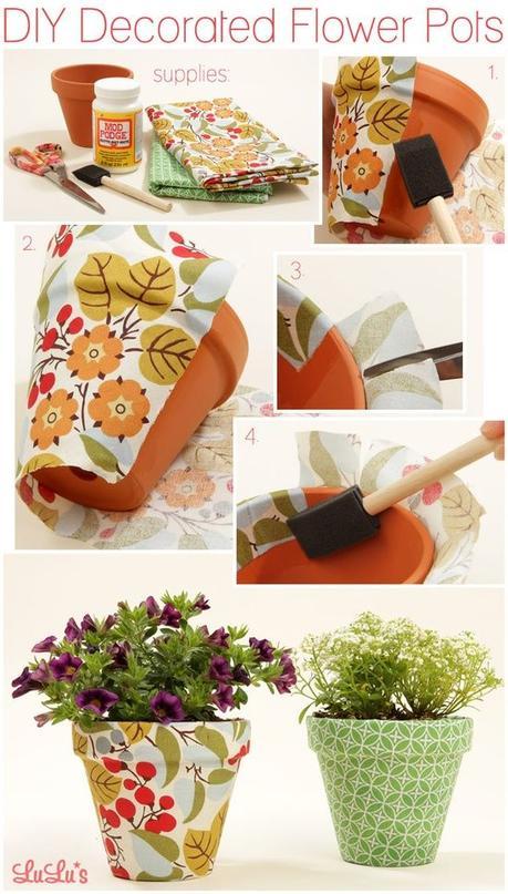 Top Idee fai da te per decorare e creare vasi e originali contenitori  OT56