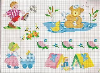 Punto croce schemi facili per bambini paperblog for Punto croce schemi facili