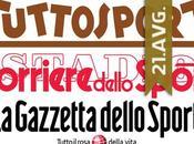 Italijanska štampa avgust 2015.