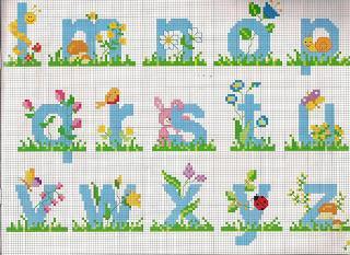 Schemi alfabeti a punto croce per bambini paperblog for Alfabeti a punto croce schemi gratuiti
