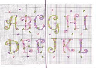 Schemi Punto Croce Alfabeto Bambini