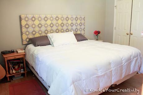 Idee fai da te per creare testiere per il letto con - Testate del letto fai da te ...