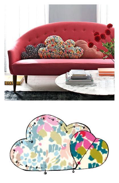 Idee fai da te creare cuscini per il divano a costo zero - Cuscini da divano ...