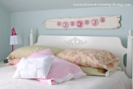 Idee fai da te per arredare la camera da letto in stile for Cuscini shabby chic fai da te