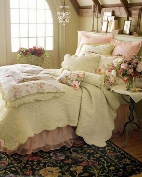 Idee fai da te per arredare la camera da letto in stile shabby chic paperblog - Arredo fai da te camera da letto ...