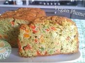 Vegan Plumcake pesto basilico, verdurine tofu