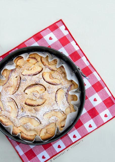 Torta di mele light senza burro e senza uova / Light apple cake recipe