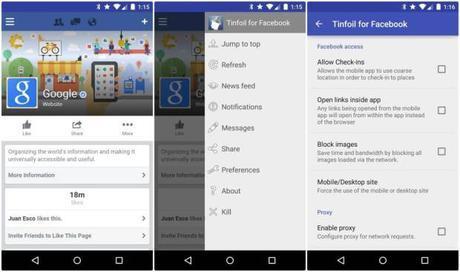 Tinfoil-for-Facebook
