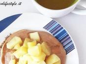 Healthy Lifestyle Ricetta Pancake Integrali