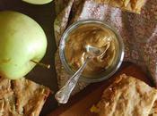 Quadrotti alle mele vegan caramello salato Vegan apple squares with salted caramel
