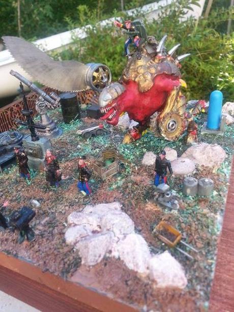 Il Rotenerbittert del Kaiser! Diorama di Dino Gargano. (Coming in 2016)