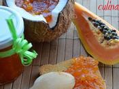 Composta papaya, cocco pizzico zenzero