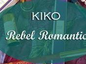 Kiko Rebel Romantic Nuovi acquisti Swatches
