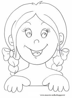 Cartelli per la porta dei bagni paperblog for Disegno bambina da colorare