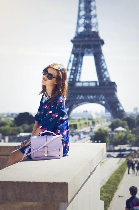 Tour Eiffel, Dressgal Newdress dress and bag
