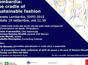 """Lombardia: cradle sustainable fashion"" Expo"