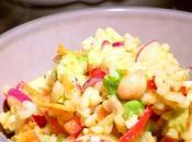 Riso freddo curry INSALATA RISO CURRY granchio ceci