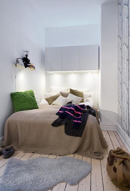 Idee fai da te per arredare piccole camere da letto - Paperblog